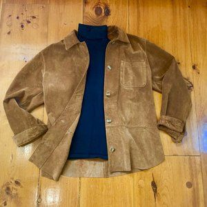 Suede Adrienne Vittadini Jacket - Medium